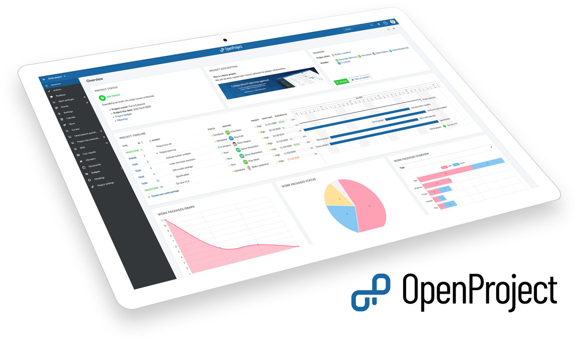 OpenProject - Projektmanagement software